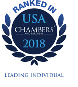 logo for Chambers USA 2018 Leading Individual